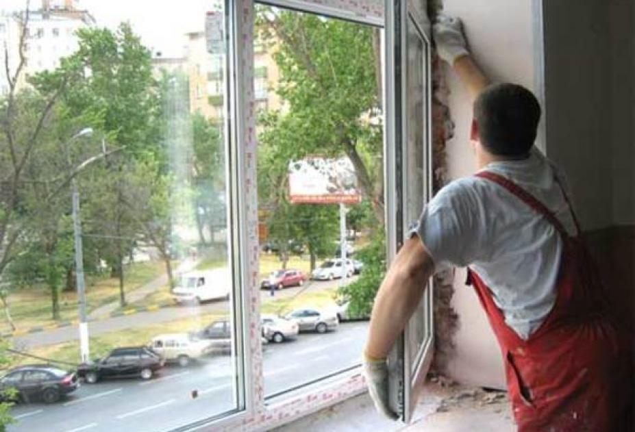 Как самому установить пластиковые окна фото