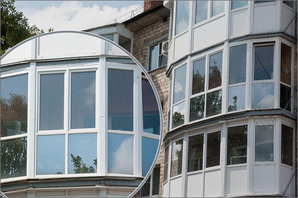Цена на остекление балкона пвх профилем. фирмы по остеклению.