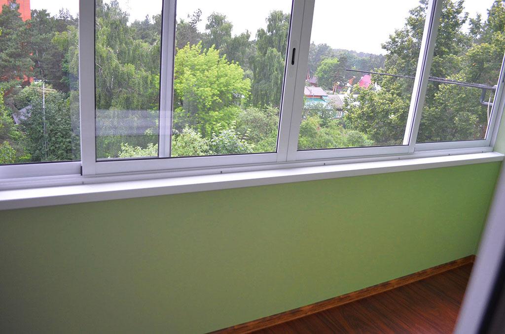 Застеклить балкон пластиковыми окнами 6 метров фото..