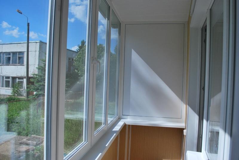 Изготовление окно для балкона.