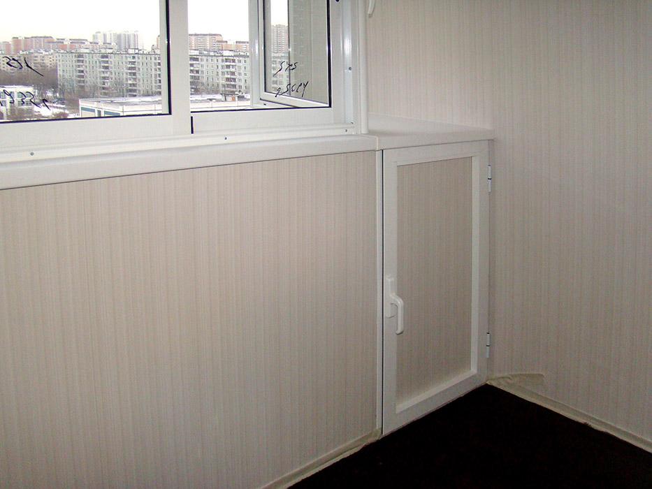 Ремонт на балконе серия п 44 т.